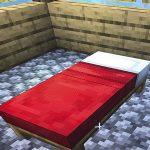 Кровать майнкрафт (minecraft)